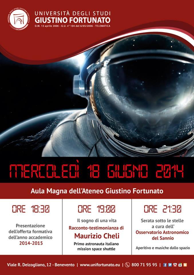 Locandina Evento 18-1.06.2014 Maurizio Cheli