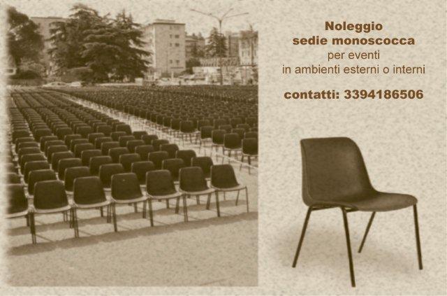 sedie noleggio