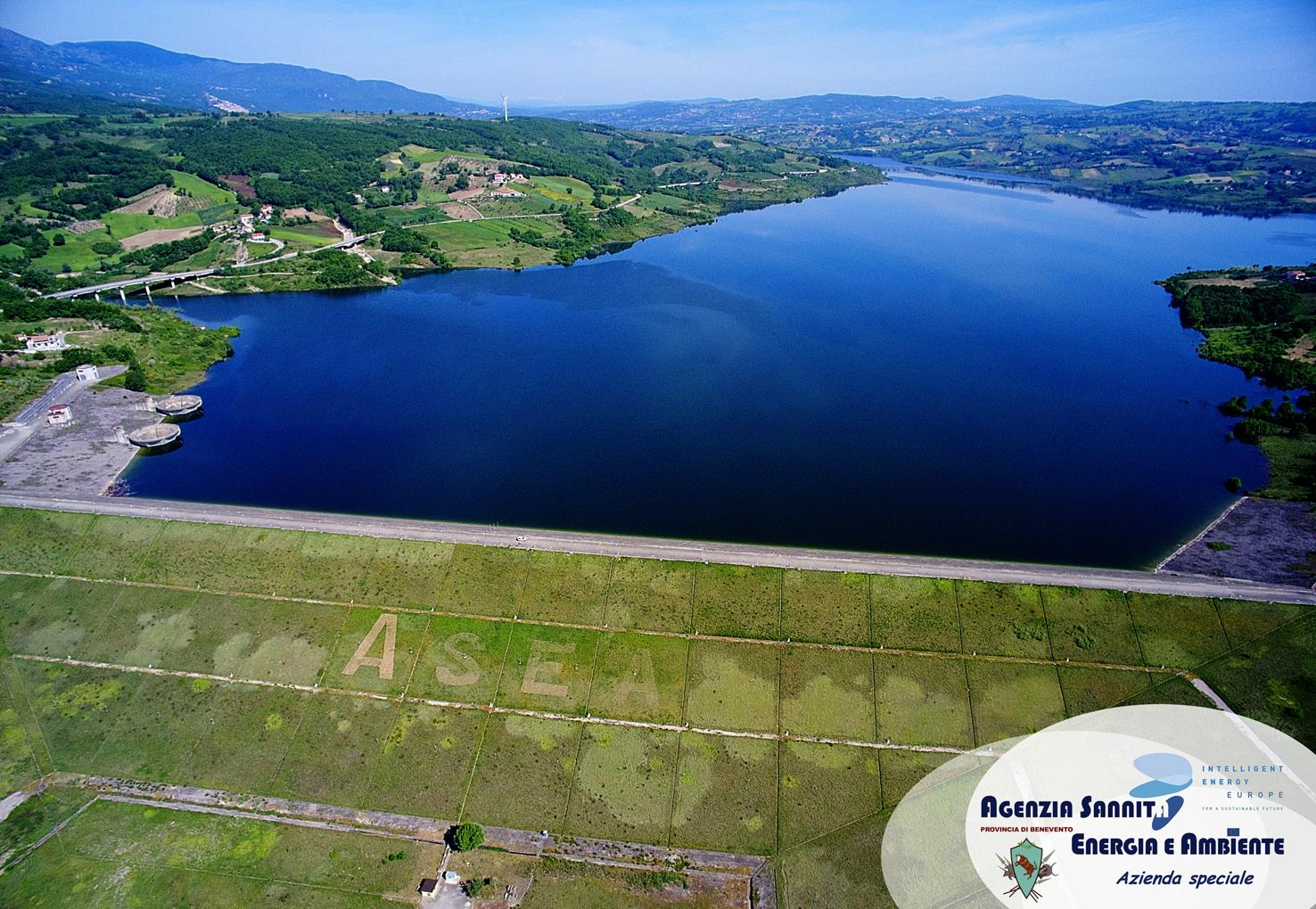 ASEA - Fermo immagine diga - drone