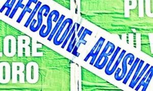affissione-abusiva