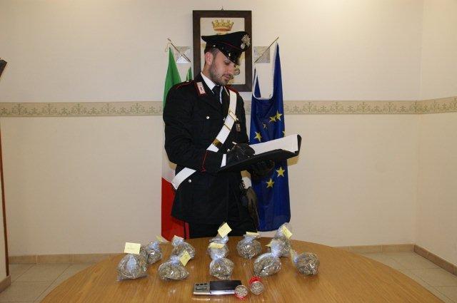 Carabinieri di Cerreto Sannita arrestano per detenzione di droga due giovani