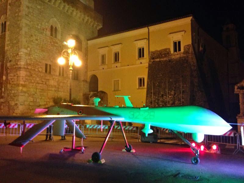 Ultimo giorno per vedere 'Predator', domani il drone parte per Roma   Fotogallery