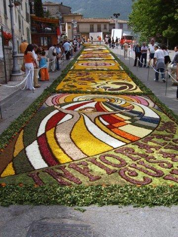 Festival internazionale dell'Infiorata, edizione all'insegna dello scambio culturale