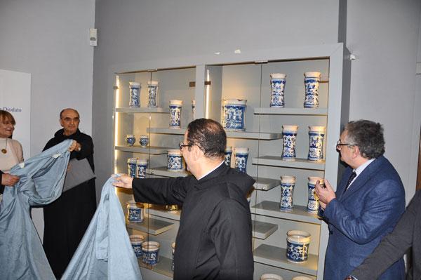 Club Unesco-Museo del Sannio: presentata la collezione dei vasi della Farmacia San Diodato