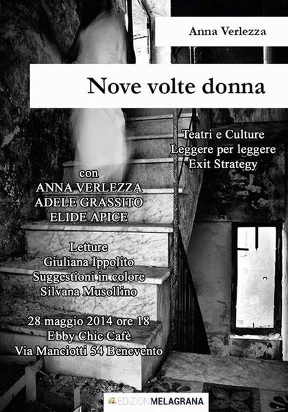'Nove volte donna', incontro con l'autrice Anna Verlezza