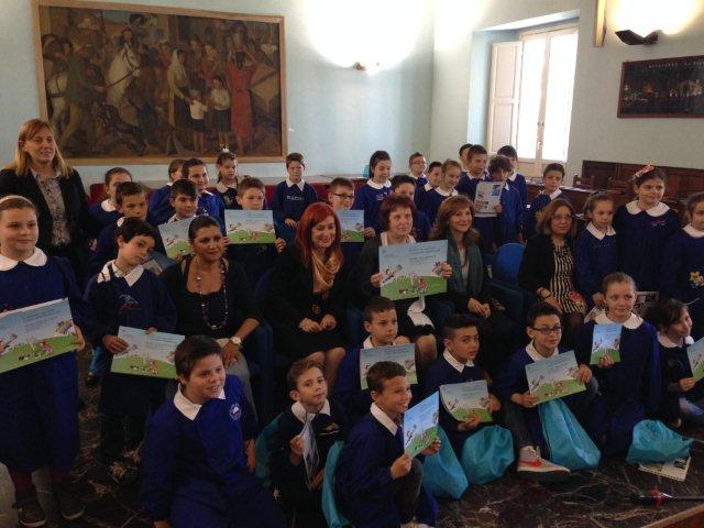 Concorso 'La natura ha i suoi colori', premiati alla Rocca gli alunni sanniti | Fotogallery