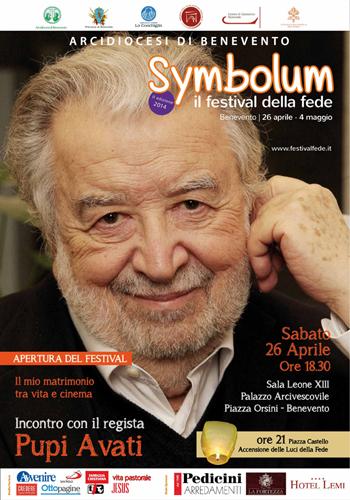 Symbolum, al via la seconda edizione. Padrino d'eccezione il regista Pupi Avati