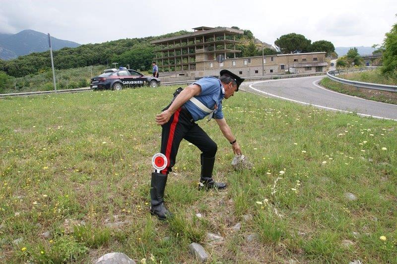 Lancio di sassi sulla Telesina, i carabinieri indagano su altri episodi non denunciati