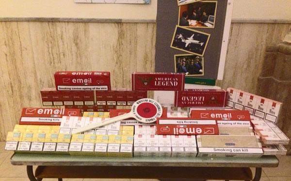 Contrabbando di sigarette, ancora sequestri: 340 pacchetti