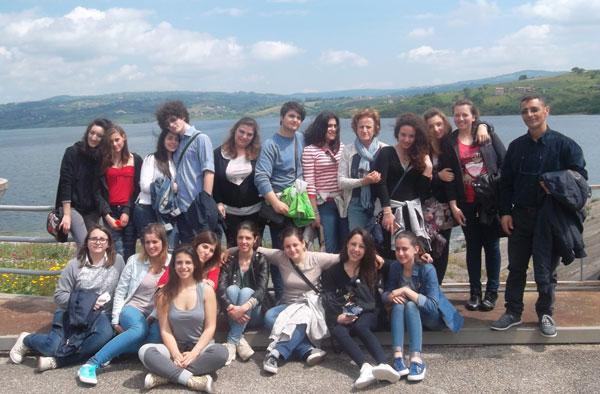 Scuole in visita alla diga di Campolattaro, l'iniziativa di Asea