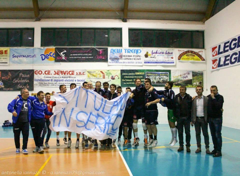 Vitulano Volley, è serie C | Fotocronaca della partita con 72 foto