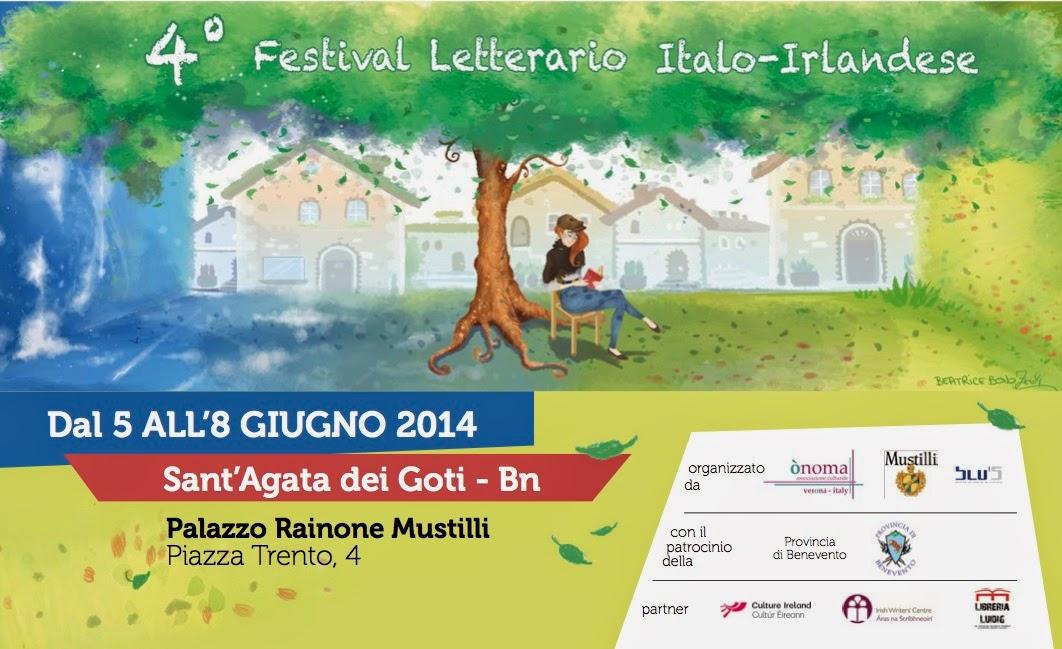 Festival letterario italo-irlandese, reading a Palazzo Rainone-Mustilli