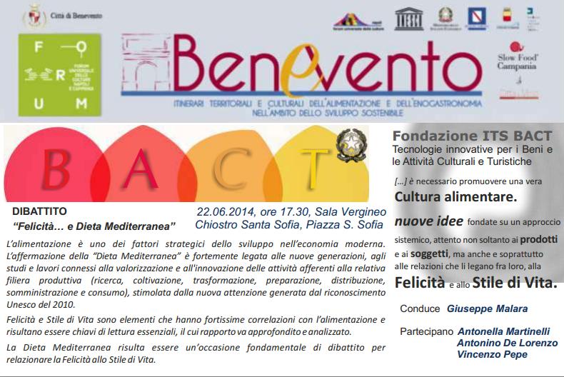 Forum delle Culture, domenica incontro conclusivo con il convegno sulla dieta mediterranea