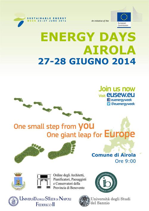 'Energy days Airola', primo appuntamento per gli operatori del settore