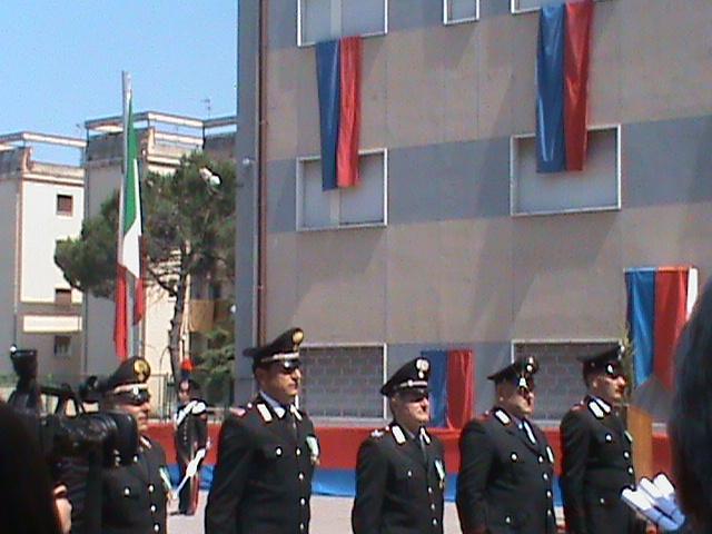 Bicentenario dei Carabinieri, toccante saluto alla città del colonnello Carideo
