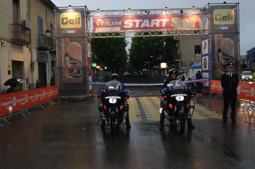 Trofeo 'Città di Telesia', viabilità e sicurezza del percorso assicurati dai carabinieri