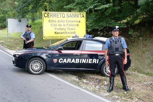 Serbo evaso dal carcere di Nisida arrestato dai carabinieri per rapine in abitazioni della valle telesina