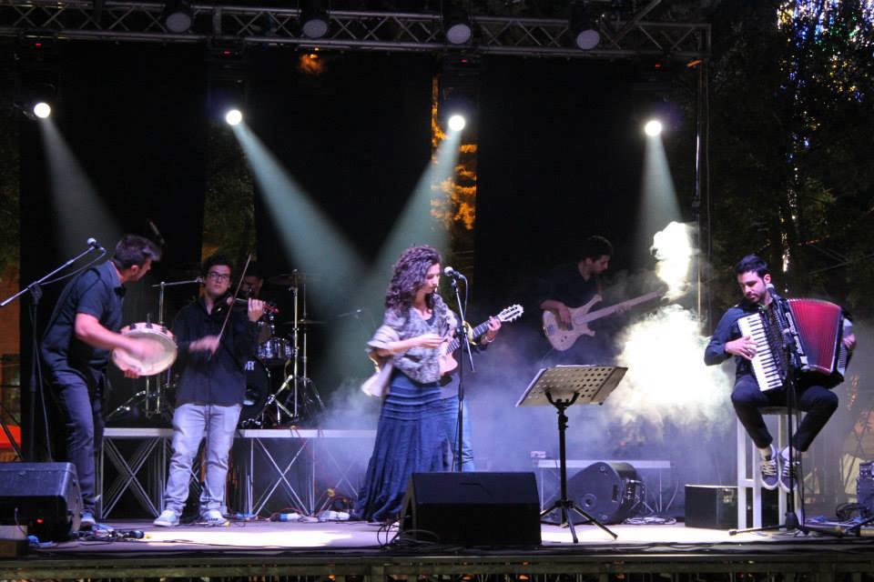 'Envoè' in concerto alla 'Festa dell'Agricoltore' di Paupisi il 27 giugno