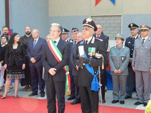 Bicentenario dell'Arma, il sindaco Pepe ringrazia il colonnello Carideo