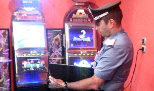 Beccato a San Bartolomeo in Galdo il ladro dello slot machine