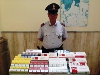 Benevento, la Guardia di Finanza sequestra 450 pacchetti di sigarette di contrabbando