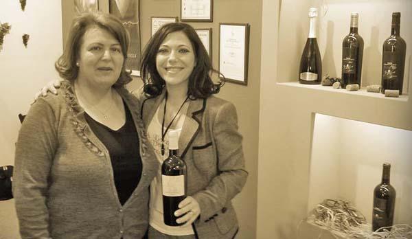 """""""Il vino del Sannio è un affare da donne"""", parola di Maria Antonietta Iannella"""