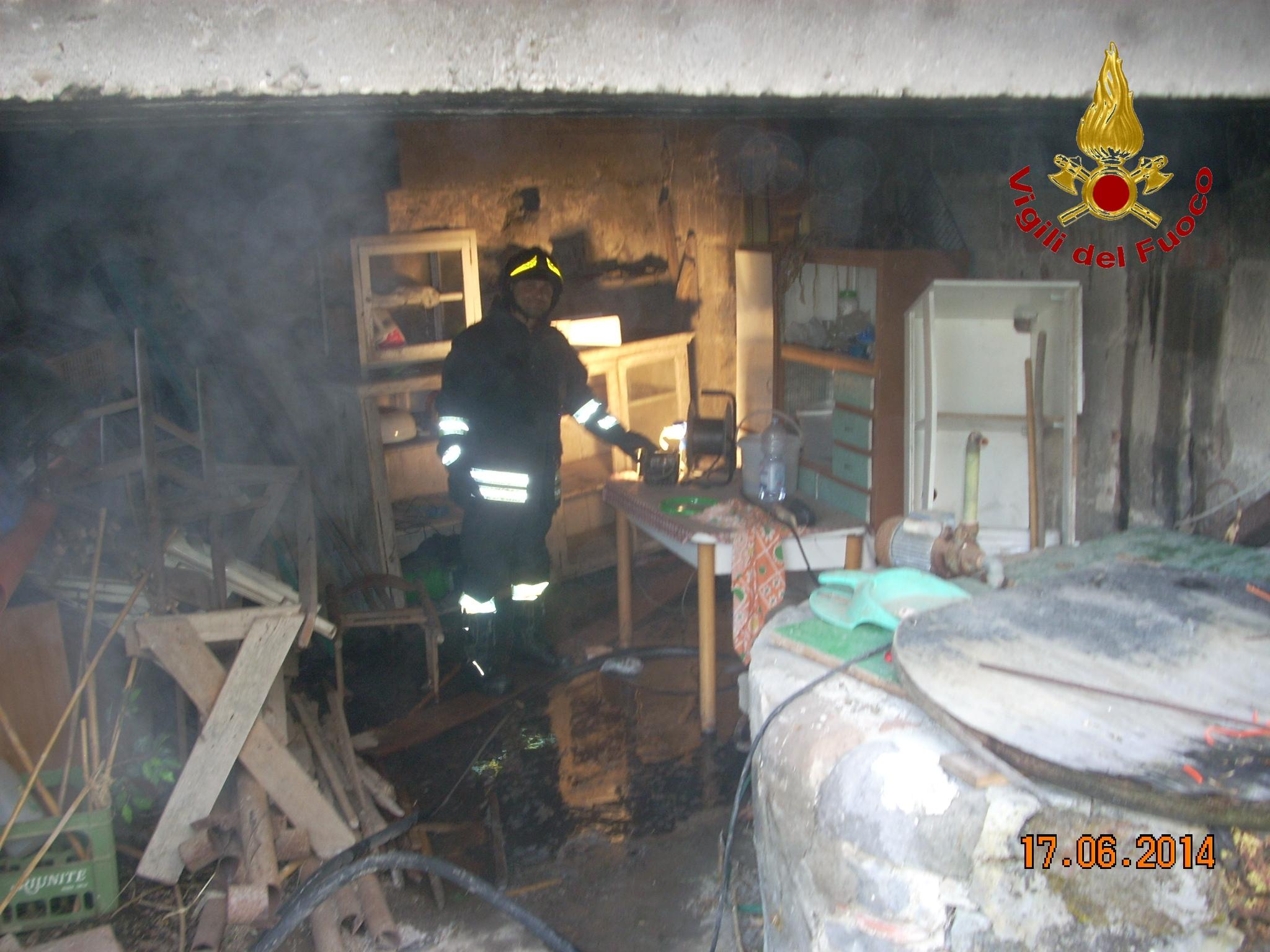 Incendio in un'abitazione a San Leucio del Sannio, nessun danno a persone