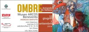 Mostra 'Ombre' al museo Arcos, inaugurazione il 12 giugno