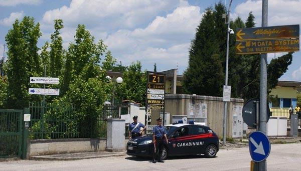Prevenzione furti, fermato un napoletano nell'area industriale di Ponte Valentino