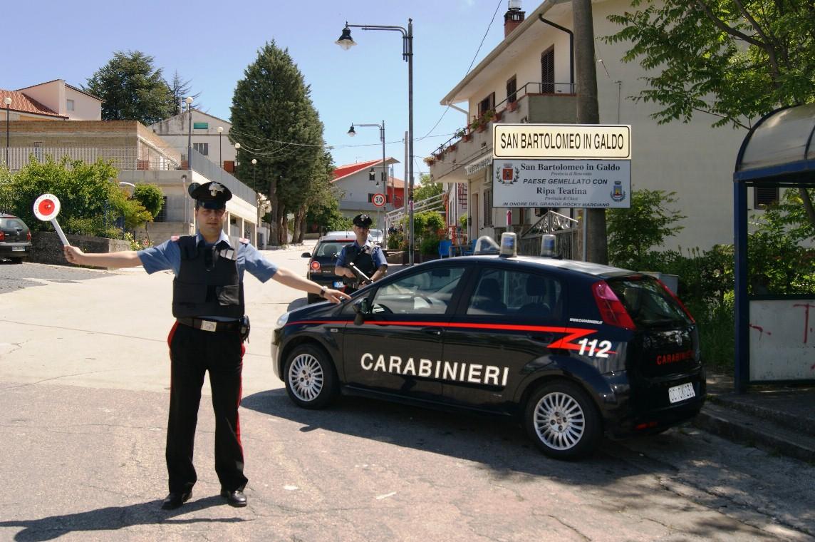 San Bartolomeo in Galdo, arrestato uomo che estorceva soldi alla moglie