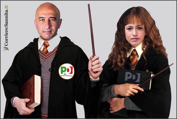 I maghi del voto Abbate e Scarinzi nella camera dei segreti del Pd sannita