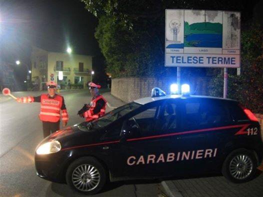 Telese Terme, fermati dai Carabinieri due rumeni specializzati in furti