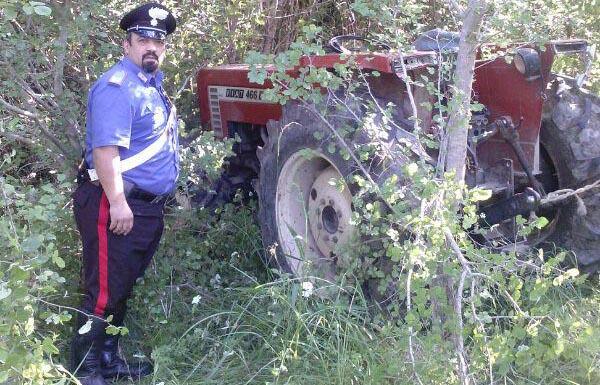 Ritrovato un altro trattore rubato, continuano gli strani furti in valle caudina