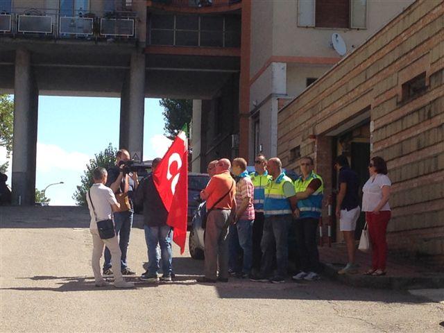 """Misericordia Benevento ancora in protesta. Venditti: """"Siamo stanchi di vedere sopraffatti i diritti dei lavoratori"""""""