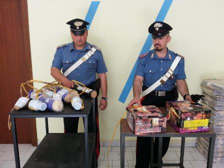 17Kg di materiale esplosivo ritrovato nella cantina di un giovane di San Giorgio Del Sannio