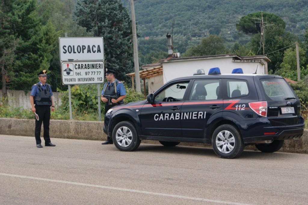 Fermato un uomo con precedenti per furto a Solopaca, proposto il foglio di via
