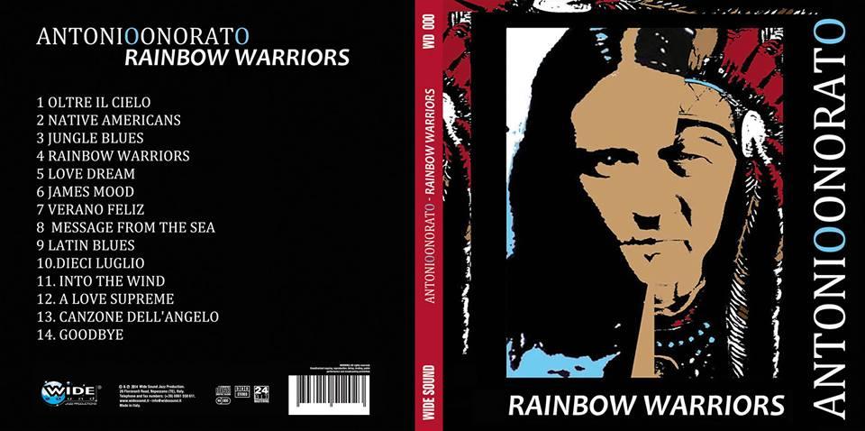 il 7 luglio presentazione di 'Rainbow warriors', ultimo lavoro discografico di Antonio Onorato