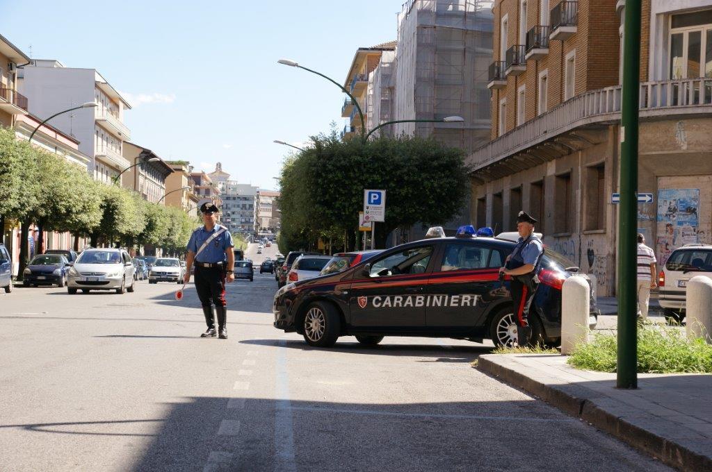 Fermate dai Carabinieri due giovani prostiture rumene al rione Ferrovia