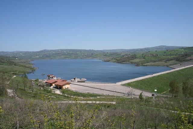 La diga di Campolattaro supera l'esame della visita di vigilanza