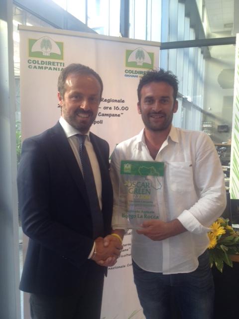 Premio 'Oscar Green' all'azienda agricola 'Borgo La Rocca' di San Nicola Manfredi