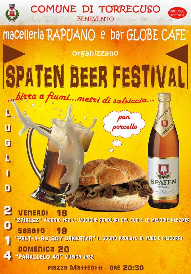Al via questo fine settimana il 'Festival della birra' di Torrecuso