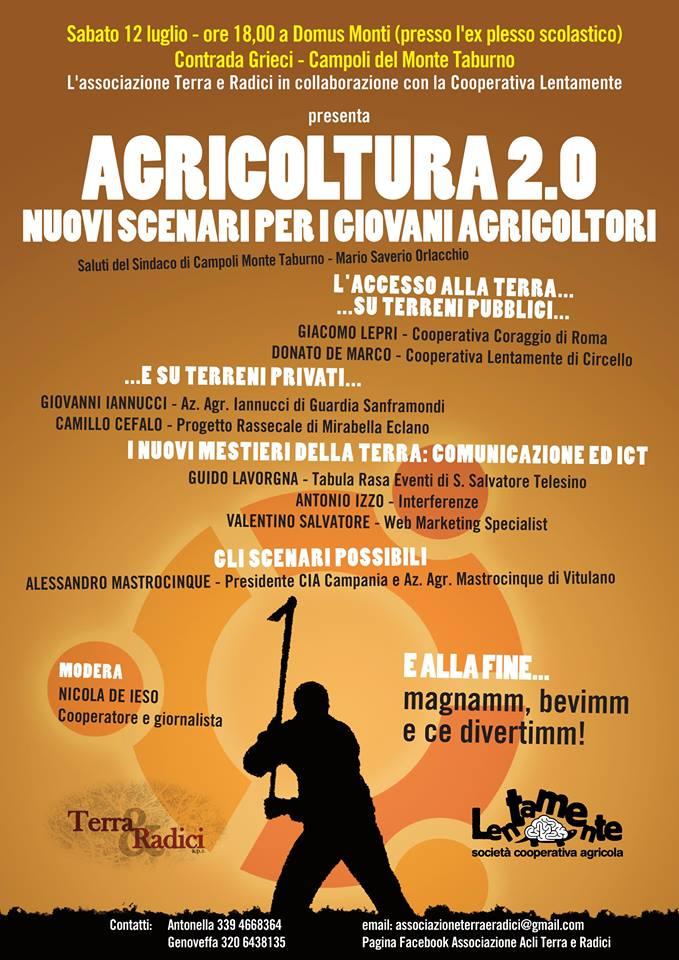 Nuovi scenari per giovani agricoltori proposti nel workshop a Campoli