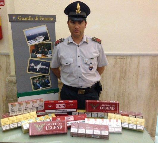 La Guardia Di Finanza di Benevento sequestra 150 pacchetti di 'bionde'