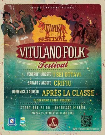 'Vitulano Folk Festival', sta per iniziare la decima edizione