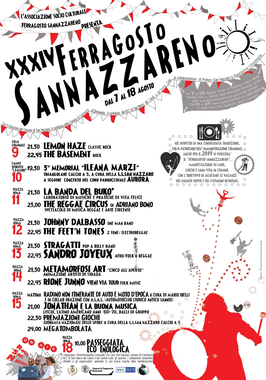 'Ferragosto Sannazzareno', 34° edizione ricca di eventi