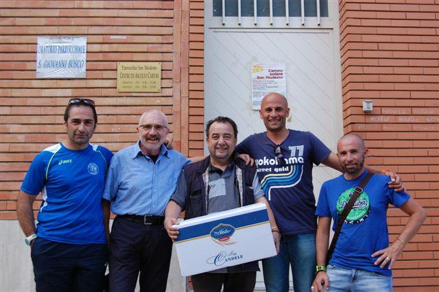Asd Amatori Podismo Benevento e Caritas Diocesana uniti per la solidarietà