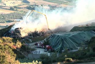 Fragneto Monforte, il 3 settembre riprenderà lo smaltimento delle ecoballe di Toppa Infuocata