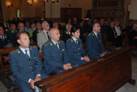 La Guardia di Finanza di Benevento ha festeggiato oggi il suo patrono San Matteo