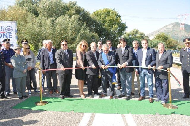 Provincia, raggiunto un'importante traguardo con l'inaugurazione del quarto tronco della Fondo Valle Isclero