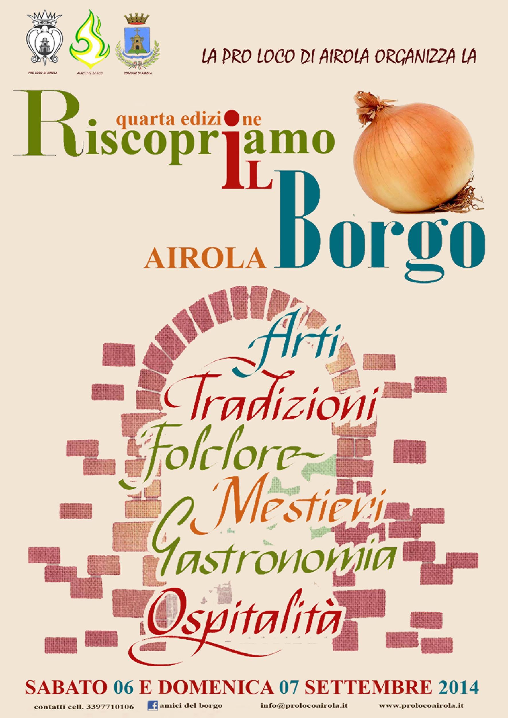 Ai nastri di partenza la quarta edizione di 'Riscopriamo il Borgo' ad Airola